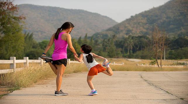 Gerakan pemanasan olahraga