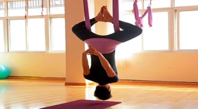 floating yoga, yoga, manfaat floating yoga