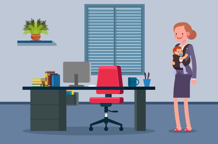 Merawat Anak Sambil Bekerja, Wanita Lebih Rentan Stres?