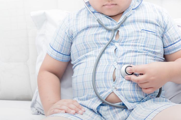 mitos atau fakta, obesitas pada anak bisa picu perlemakan hati